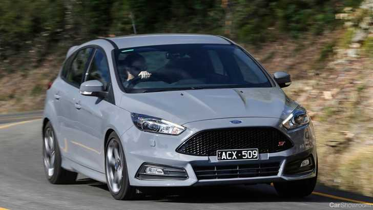 2015 ford focus 5d hatchback st - Ford Focus St 2015 Blue