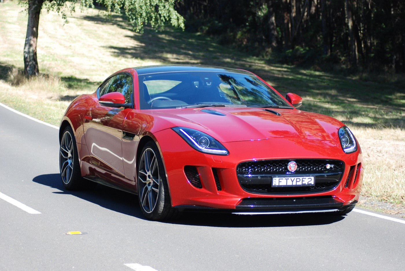 review 2015 jaguar f type coup r review and road test. Black Bedroom Furniture Sets. Home Design Ideas