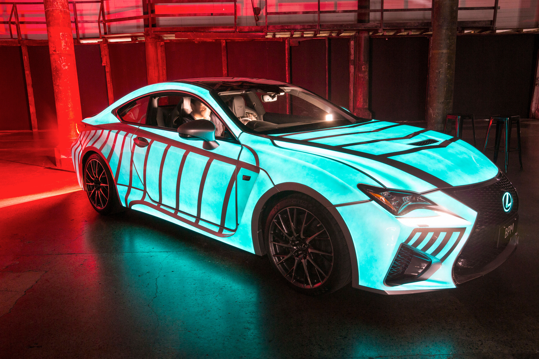 News Lexus Rcf Heartbeat Car