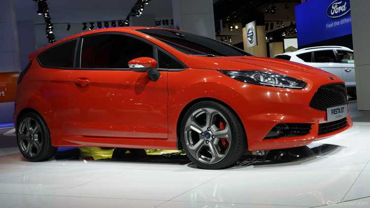 News Ford Fiesta St Concept