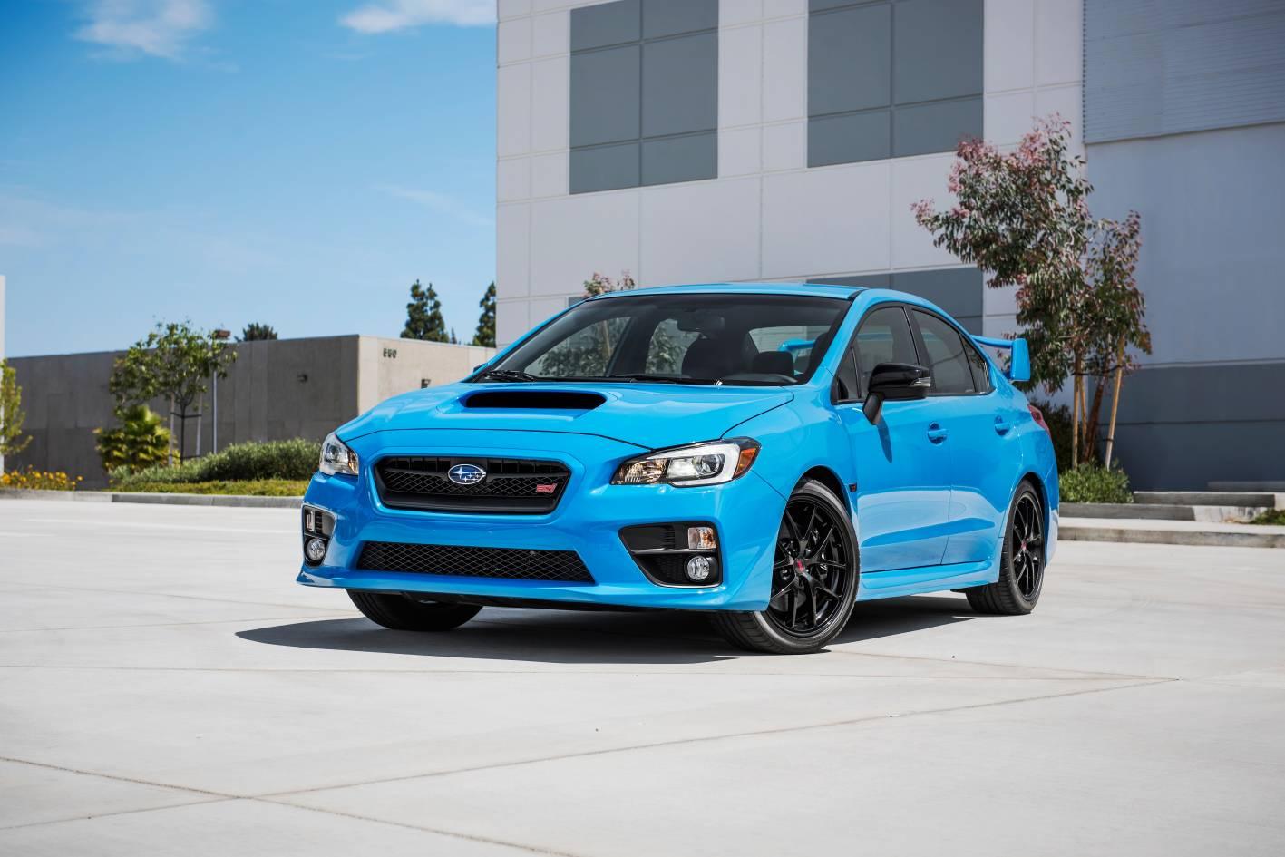 News Wrx Sti Premium And Brz Hyper Blue