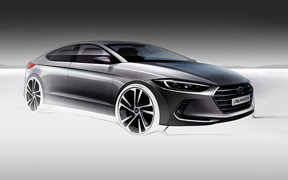 News More Images Of All New Hyundai Elantra