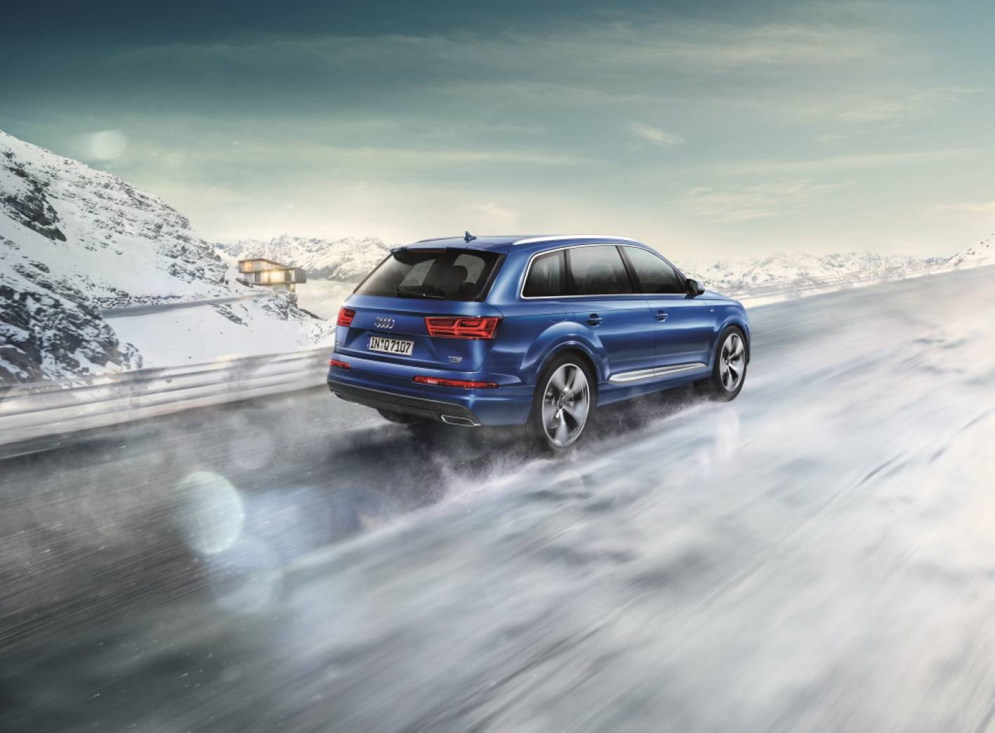 news audi launches snow driving at mt hotham. Black Bedroom Furniture Sets. Home Design Ideas
