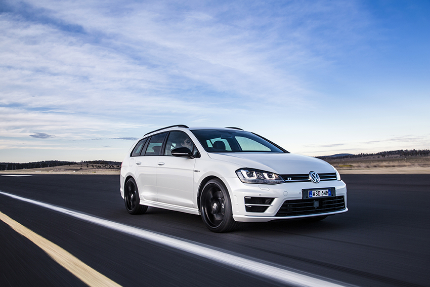 News Volkswagen Golf R Wagon And Golf Alltrack Launched