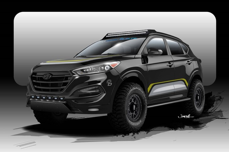 News Rpg Hyundai Tucson Set For 2015 Sema