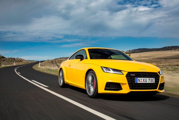 Review 2015 Audi Tts Coupe Review Amp First Drive
