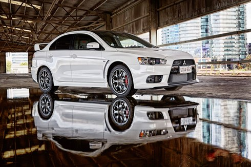 2015 MITSUBISHI LANCER 4D SEDAN EVOLUTION MR