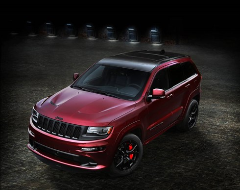 2015 JEEP GRAND CHEROKEE 4D WAGON SRT 8 (4x4)