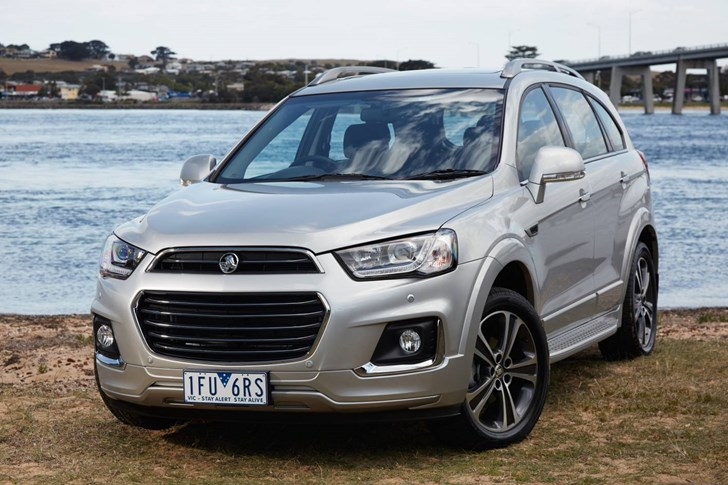 News 2016 Holden Captiva Launched