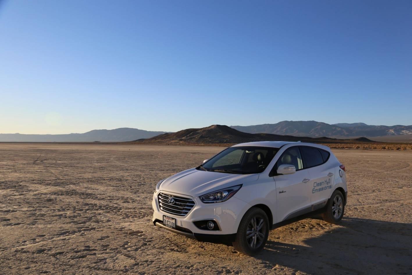 News Hyundai Ix35 Sets Land Speed Record