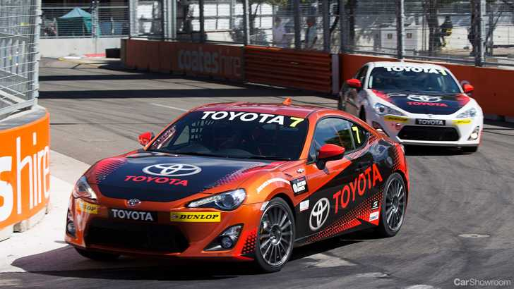 News Toyota Race Series Famous Names