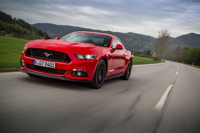 Ford Mustang Man Vs Machine