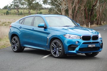 2015 BMW X6 4D COUPE M