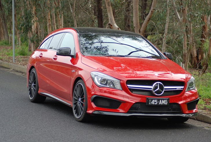 2015 MERCEDES-BENZ CLA 4D WAGON 45 AMG 4MATIC SHOOTING BRAKE