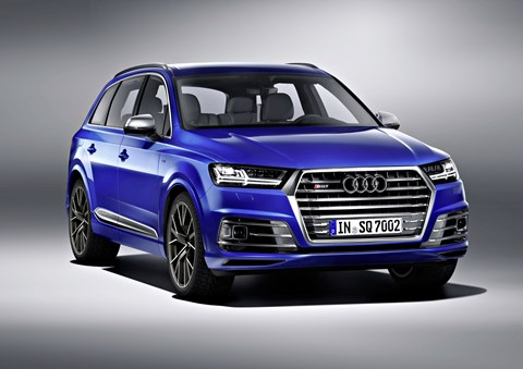 Audi Launches Its SQ7 Sports SUV
