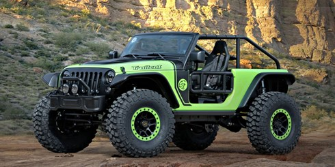 Jeep Unveils 7 Concepts At Moab