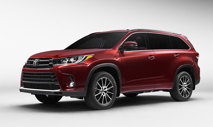 Toyota Shows Off Updated Kluger SUV Before NY Motor Show Debut