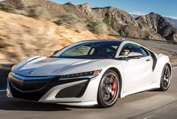 Honda NSX To Start Its Factory Rollout In April