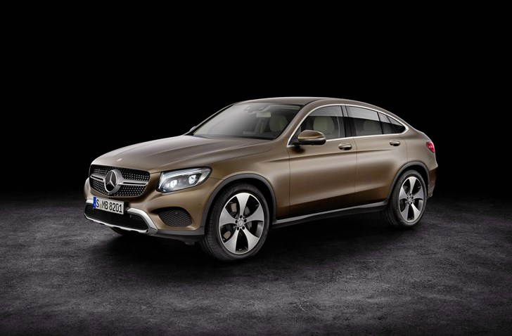 Mercedes-Benz GLC Coupe Unveiled In New York