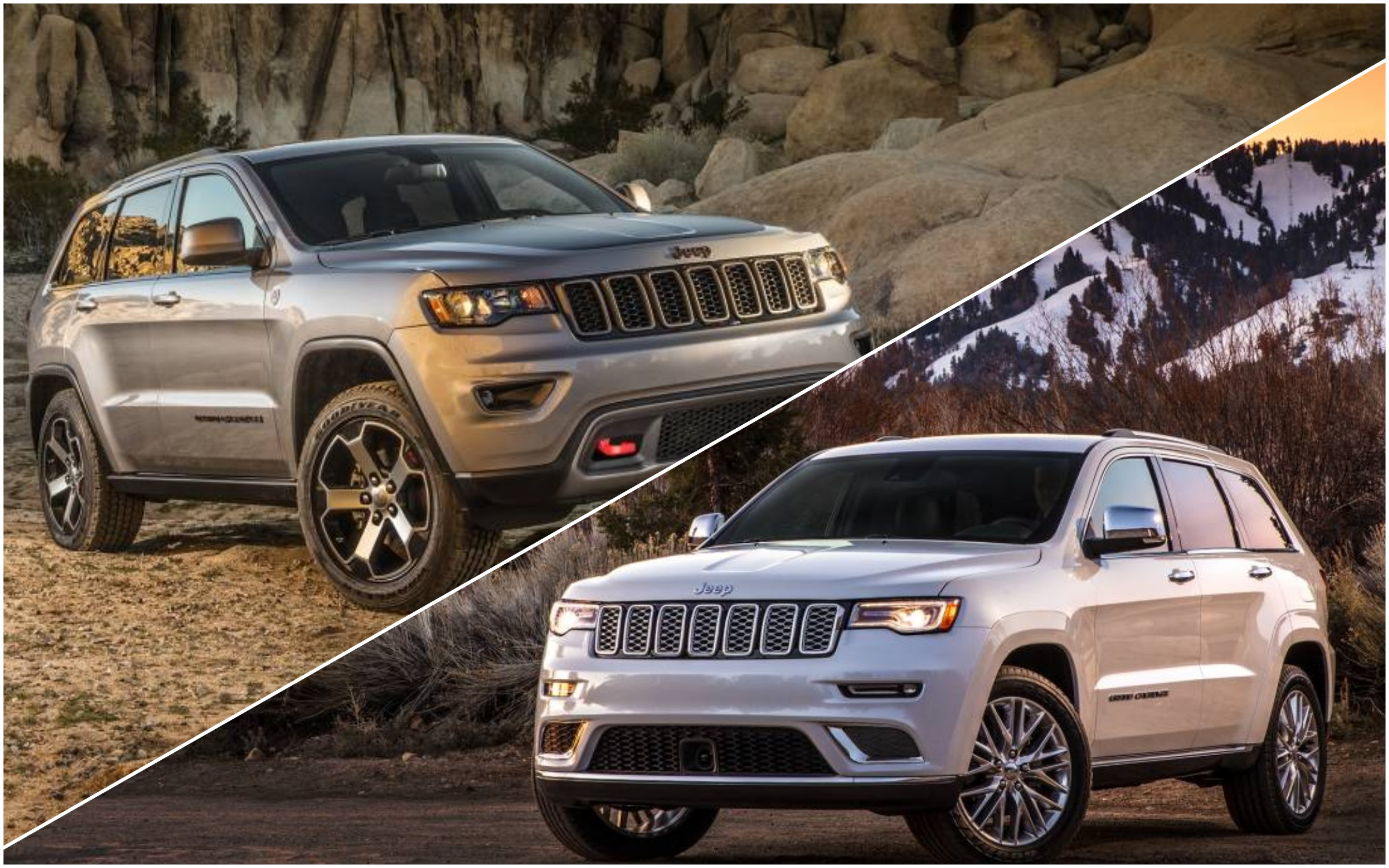 news 2017 jeep grand cherokee trailhawk summit outed. Black Bedroom Furniture Sets. Home Design Ideas