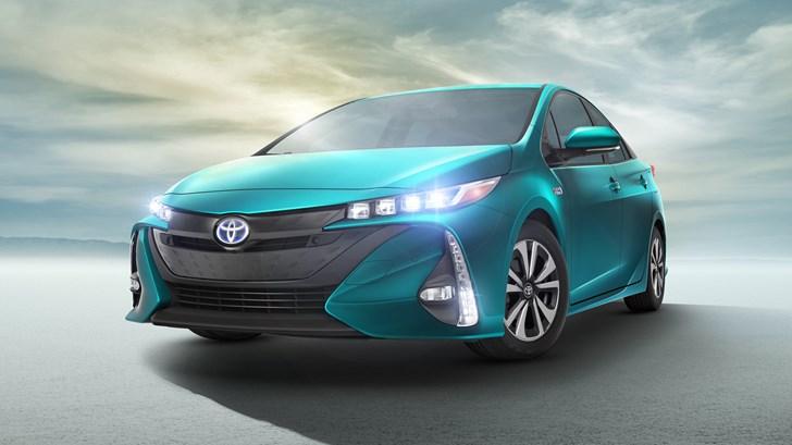 Toyota Unveils The Prius Prime Plug-In Hybrid