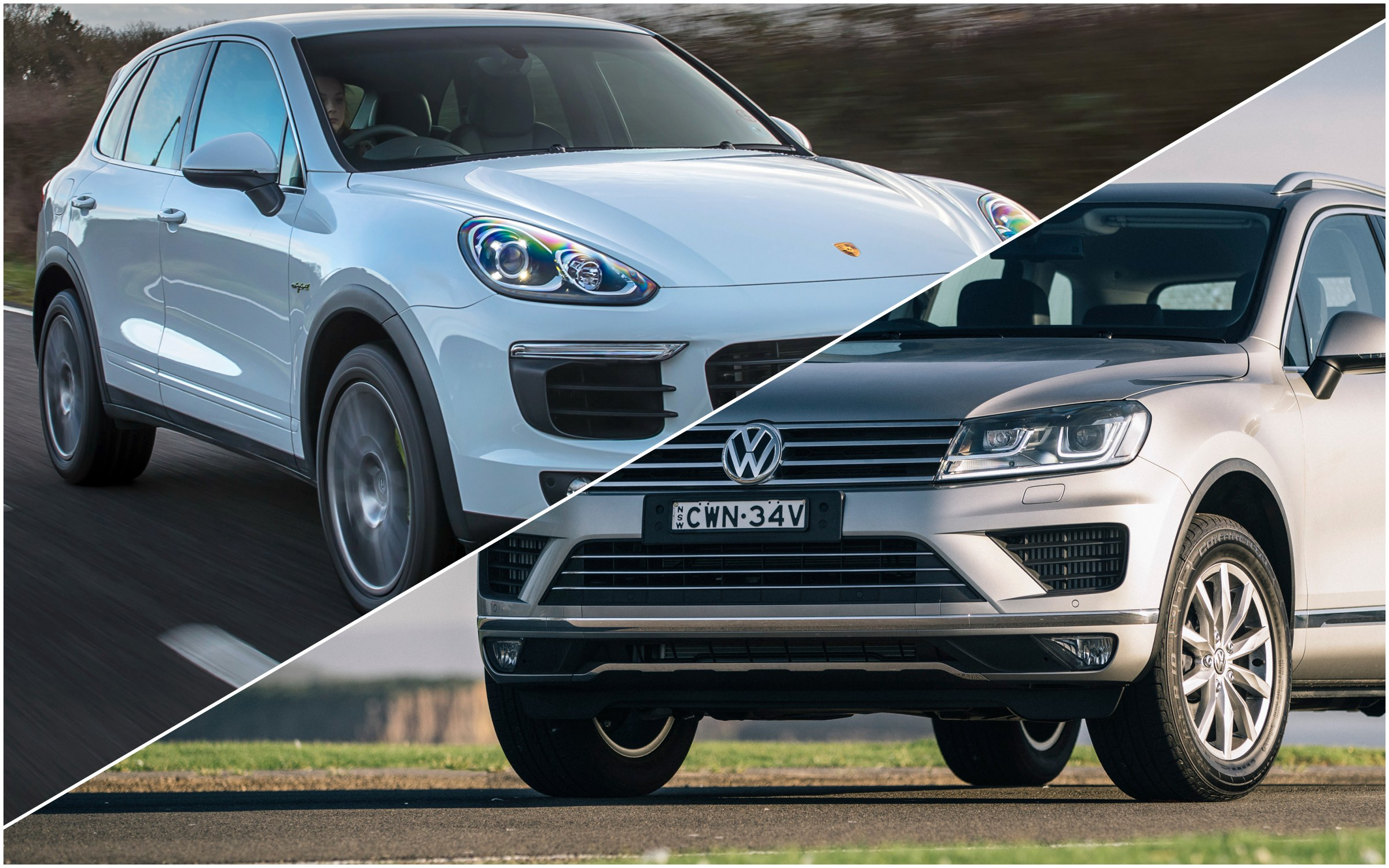 news vw group recalls  suvs oz touaregs cayennes affected