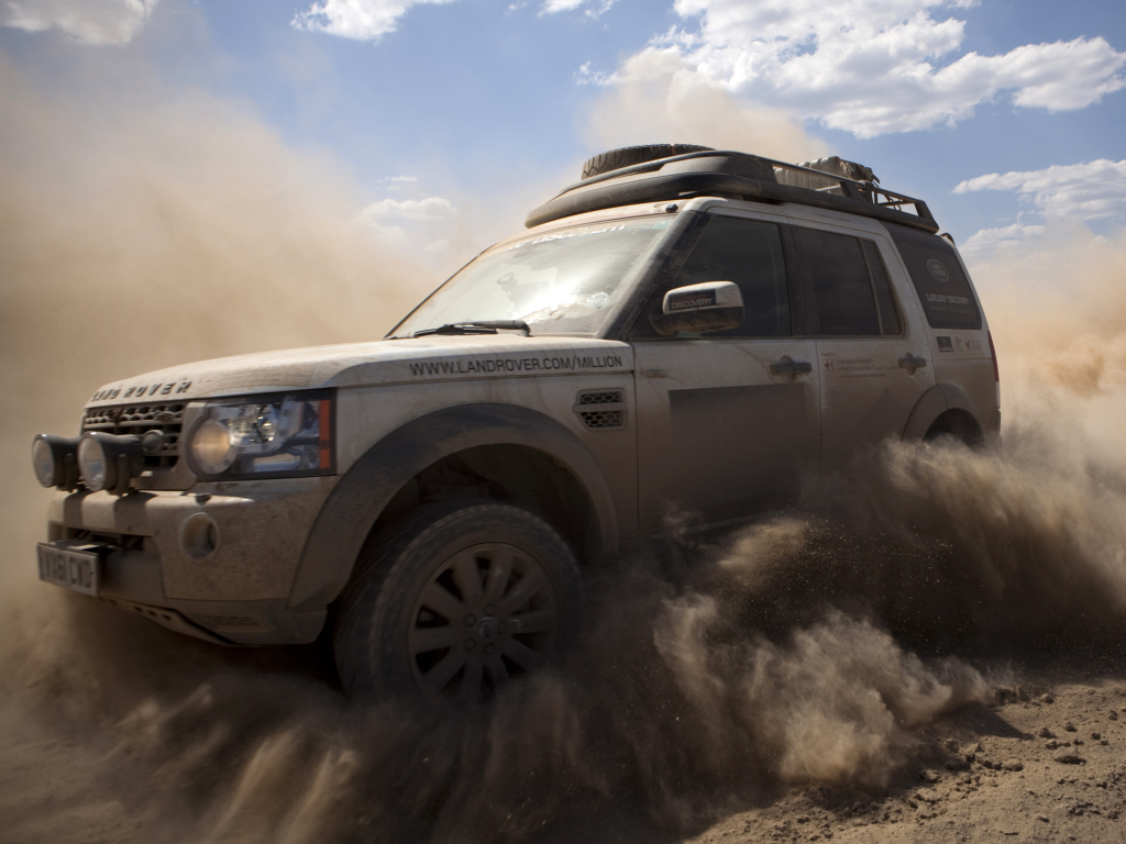 News - Tough As Nails Land Rover Discovery SVX In The Works