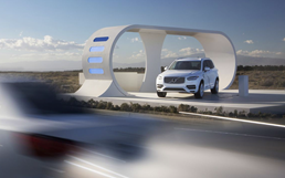Volvo's 'Highway Robbery'  Uses Gas-Powered Cars To Charge XC90