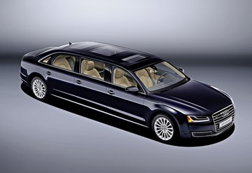 Audi Redefines Long Wheelbase With 6.3-Metre A8 L Extended