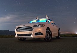 Ford's Autonomous Fusion Can Drive Itself In Utter Darkness