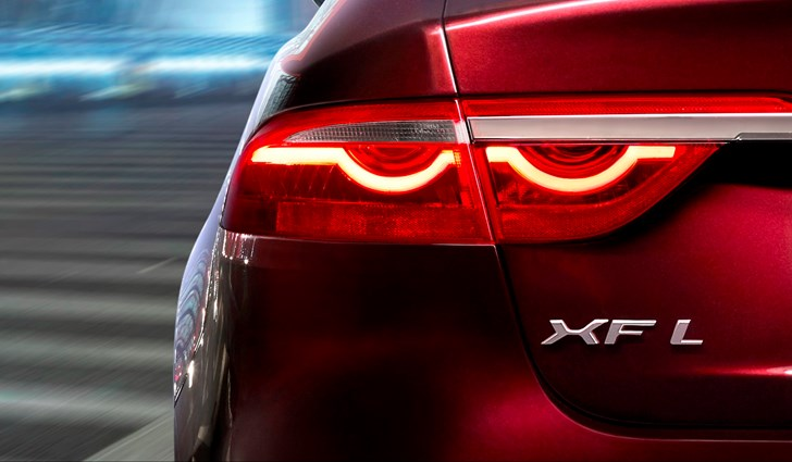 Jaguar Teases Long-Wheelbase XF Headed To Beijing