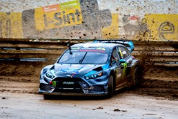 Ford Focus RS RX Makes Its Sideways Rallycross Debut