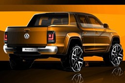 Volkswagen Teases Their New Amarok In Sketches