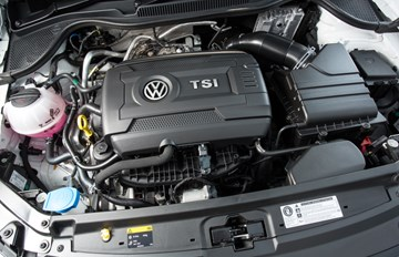 Volkswagen's Reveals New Turbo Petrol Engine