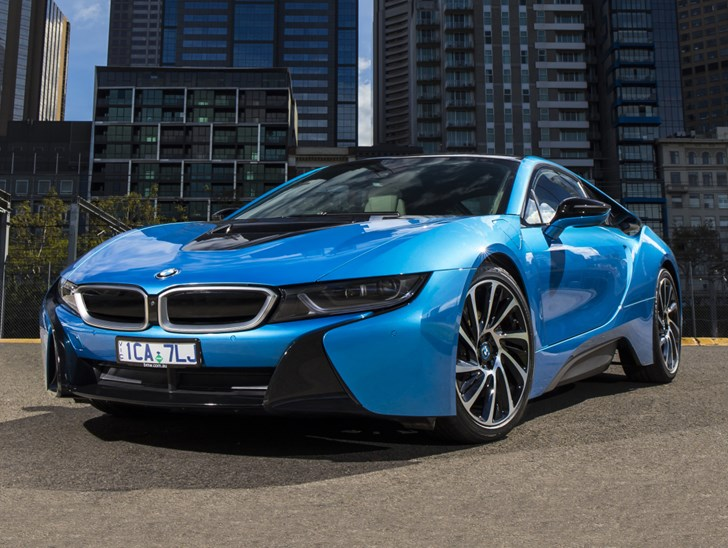 BMW's i8 Sports Car To Get More Power, Range With Facelift