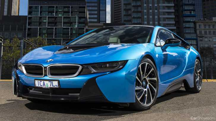 BMWs I8 Sports Car To Get More Power Range With Facelift