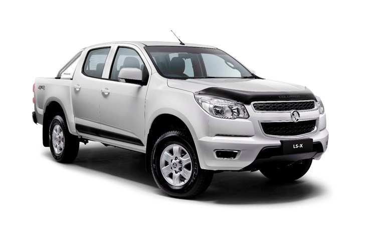 Holden Expands Colorado Range With New LS-X