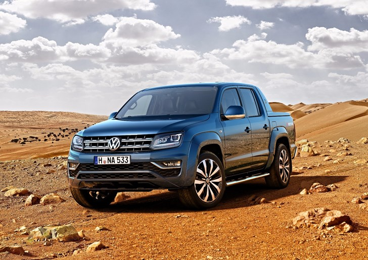 Volkswagen Gives 2017 Amarok New V6 Turbodiesel