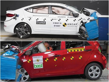 2016 Hyundai Elantra, Kia Picanto Scores Five Stars In ANCAP Tests