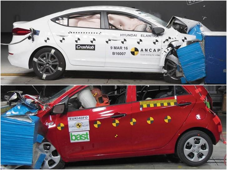 2016 Hyundai Elantra, Kia Picanto Scores Five Stars In ANCAP Tests