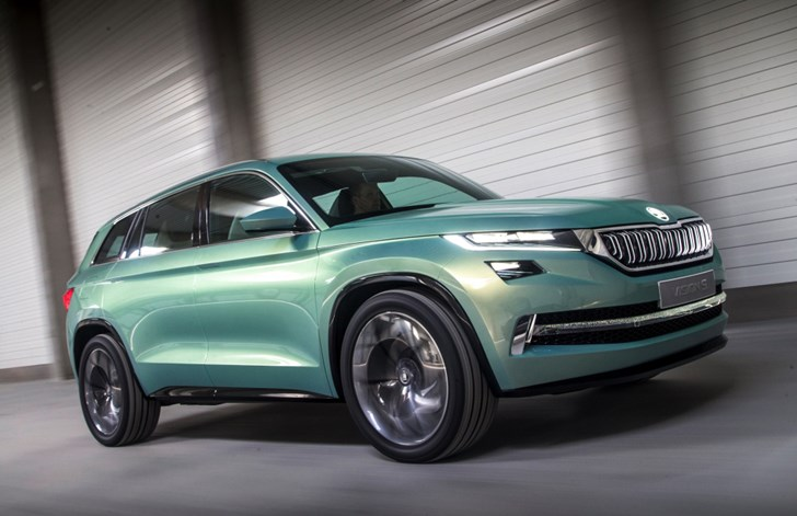 'Kodiaq' Confirmed As Skoda's Upcoming Large SUV's Name