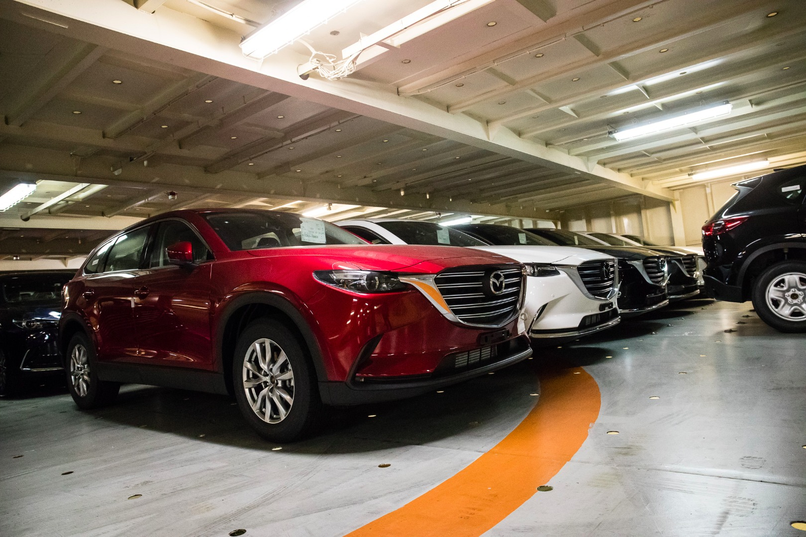 news all new mazda cx 9 touches down in melbourne. Black Bedroom Furniture Sets. Home Design Ideas