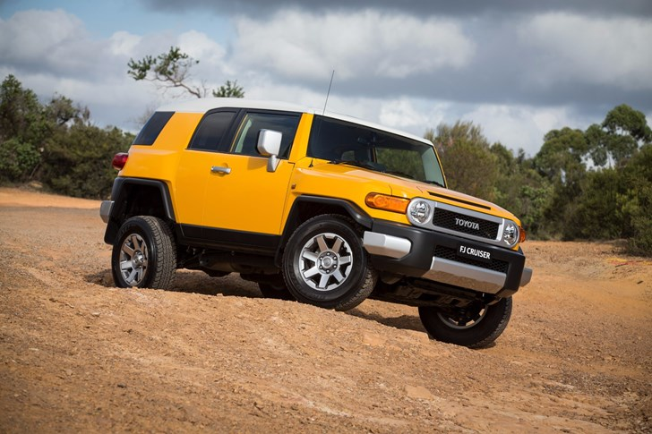 Toyota FJ Cruiser Ceases Production August 2016