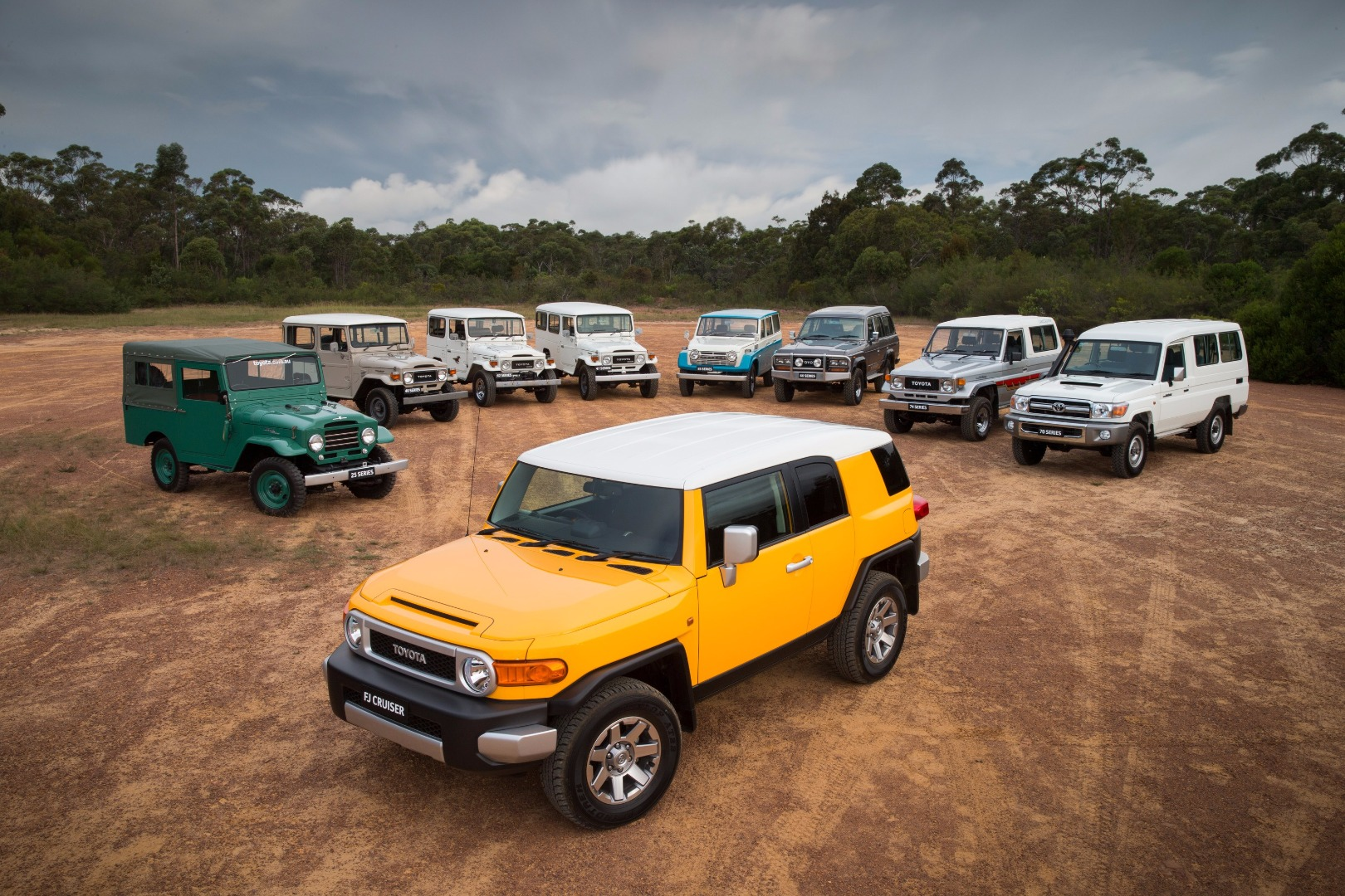 news toyota fj cruiser ceases production august 2016. Black Bedroom Furniture Sets. Home Design Ideas