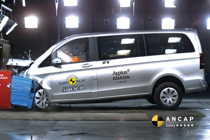 Ford Transit, Mercedes-Benz Vito Score 5-Star ANCAP Rating