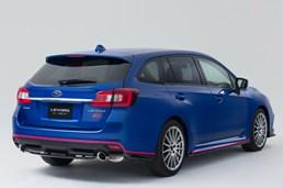 Subaru Teases Levorg STI For Make Japanese Debut