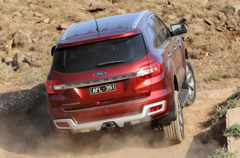 2016 FORD EVEREST 4D WAGON TITANIUM