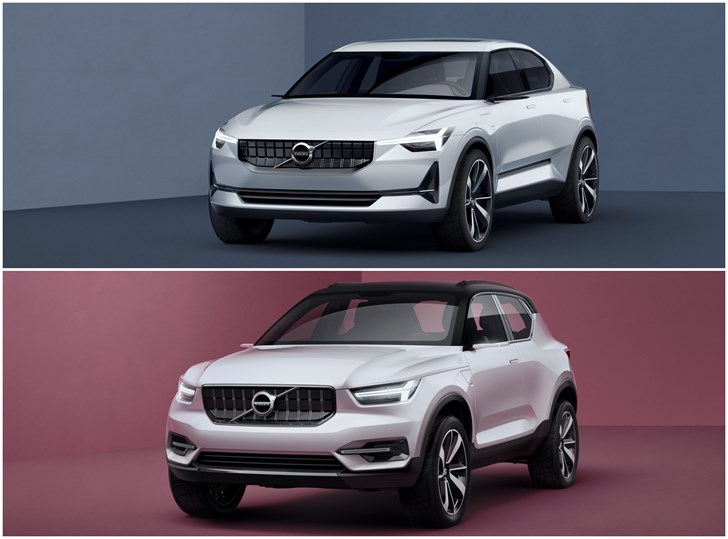 Volvo Previews Next 40 Series In Two New Concepts