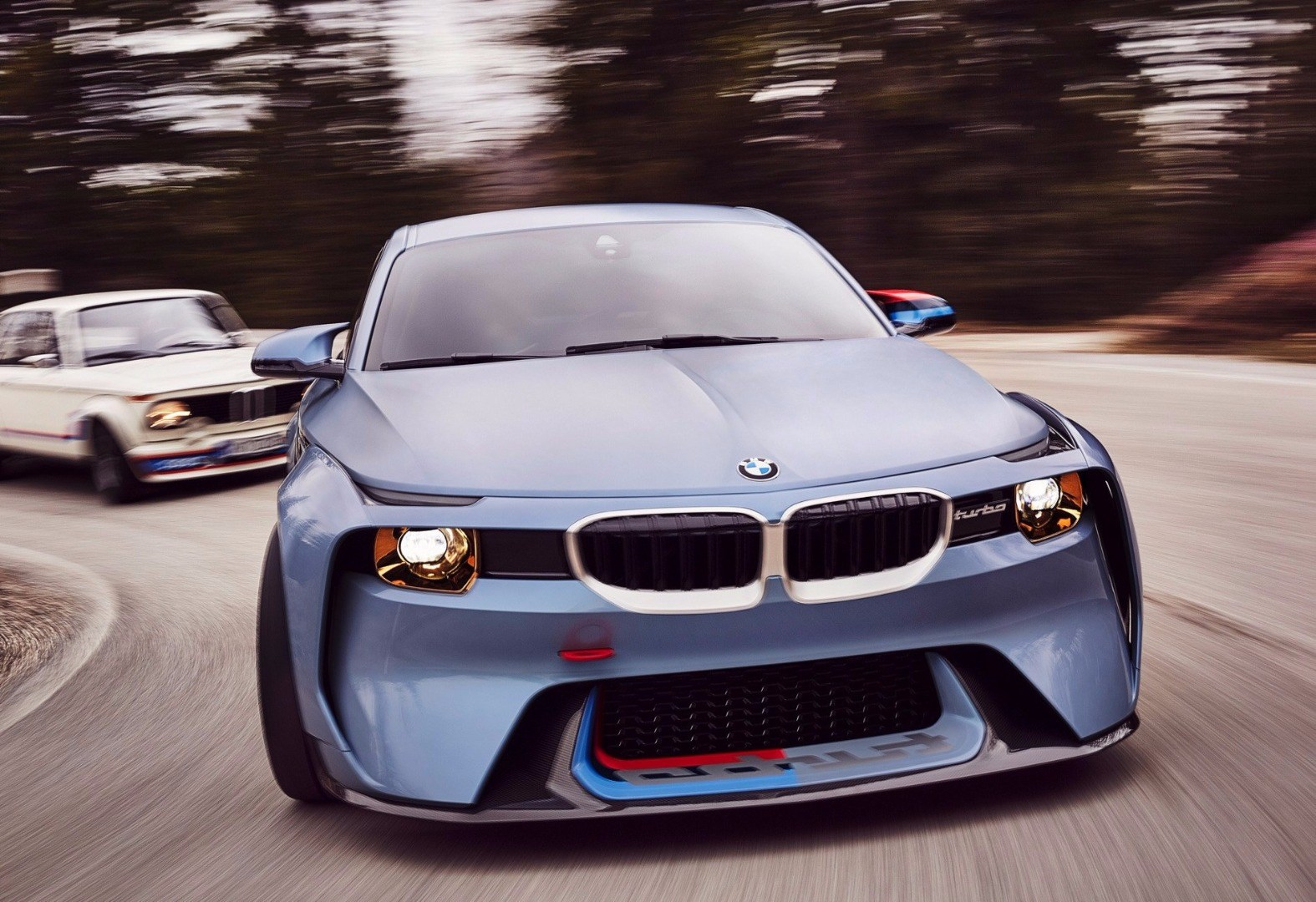 BMW 2002 Hommage Concept Revealed Thumbnail