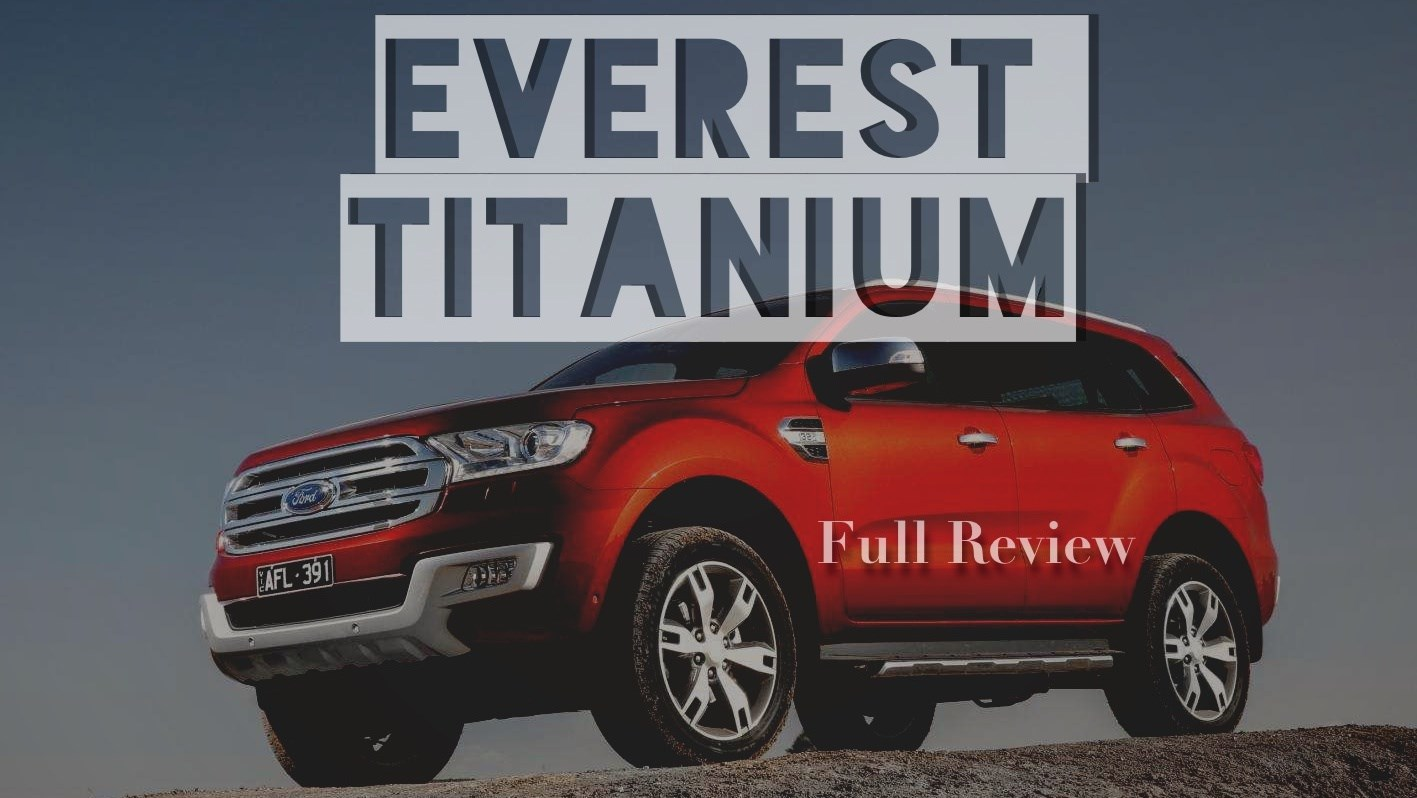 2016 Ford Everest Titanium Full Review
